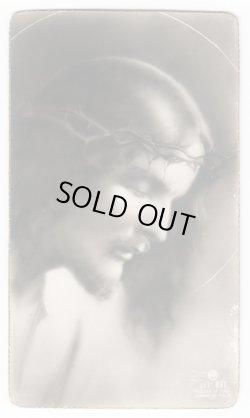 画像1: 【白黒写真風】【この人を見よ イエスキリスト】イタリア・アンティーク&ヴィンテージホーリーカード