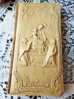 画像4: 【象牙風ベークライト至聖なるロザリオの聖母祈祷書】【1906年】イタリア・アンティーク&ヴィンテージ聖品