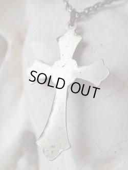画像3: 【教会装飾風クロスフルーリー型】【ロザリオ用クロス】フランス・アンティーク&ヴィンテージクロス